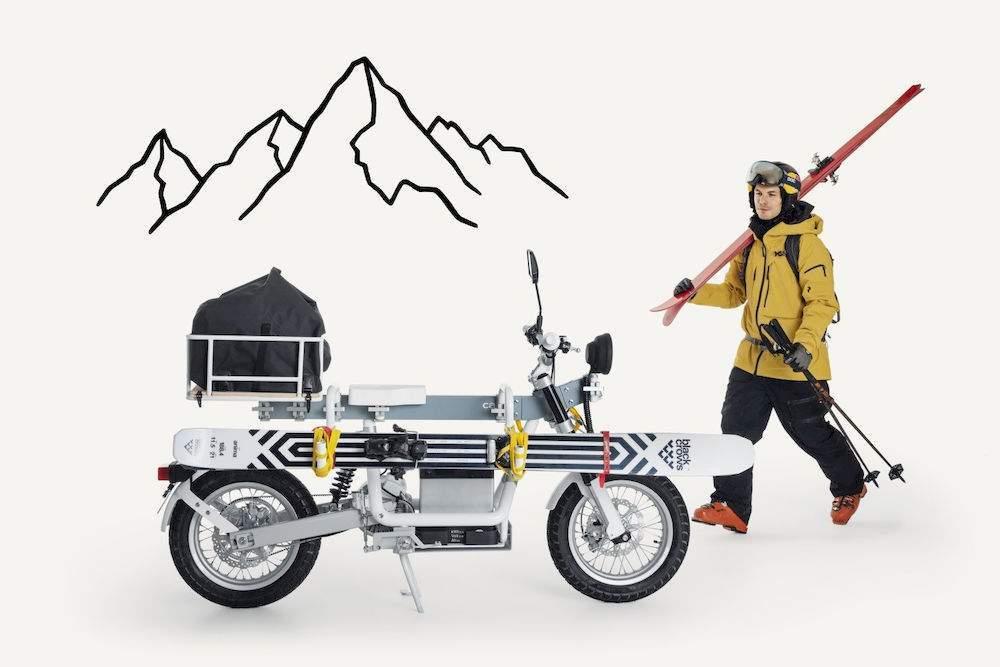 moto electrique cake